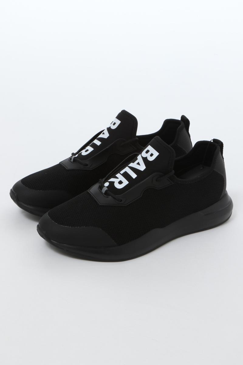 ボーラー BALR. スニーカー ローカット シューズ 靴 BLACK LOAB メンズ B10167 ブラック 送料無料 楽ギフ_包装 2020年春夏新作
