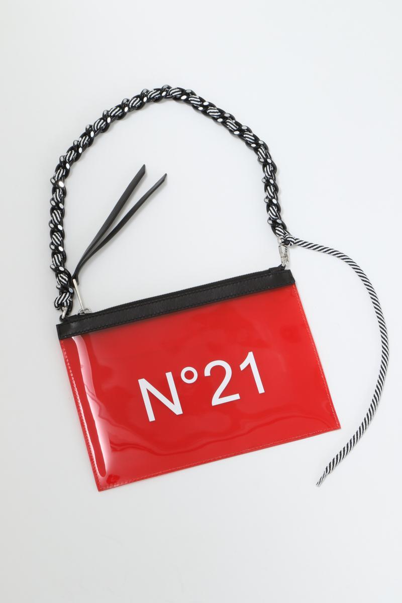 ヌメロヴェントゥーノ N°21 バッグ ポーチ 0460013/08 N05208NX1001 レッド 送料無料 楽ギフ_包装