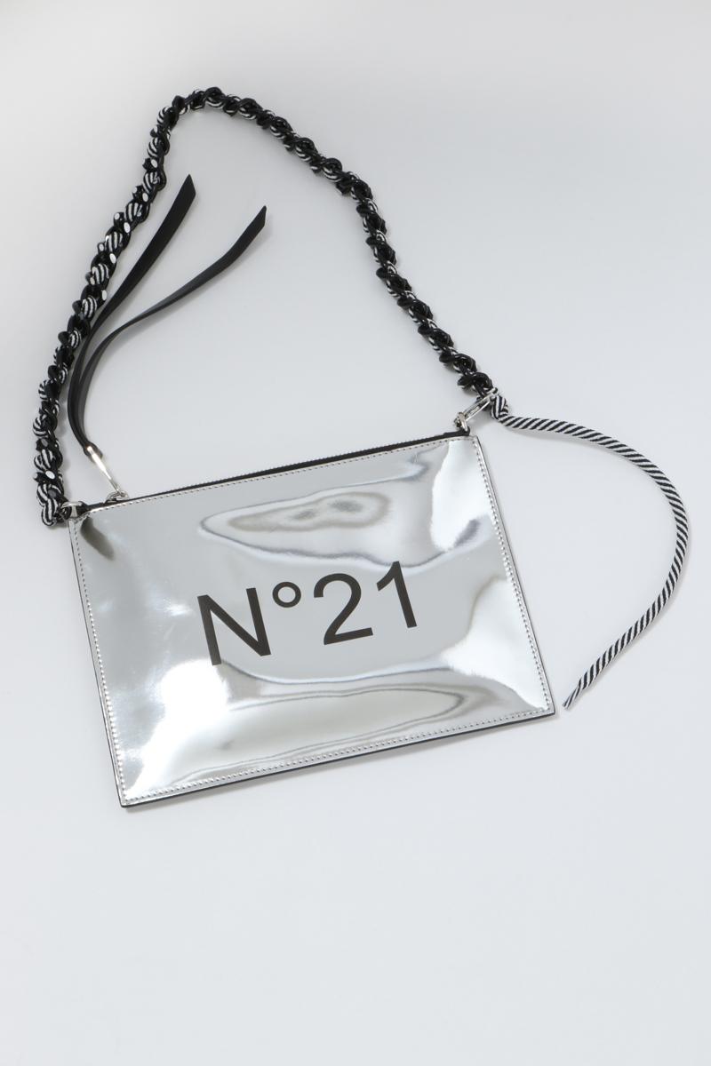 ヌメロヴェントゥーノ N°21 バッグ ポーチ 0460018/40 N05207NT0019 シルバー 送料無料 楽ギフ_包装