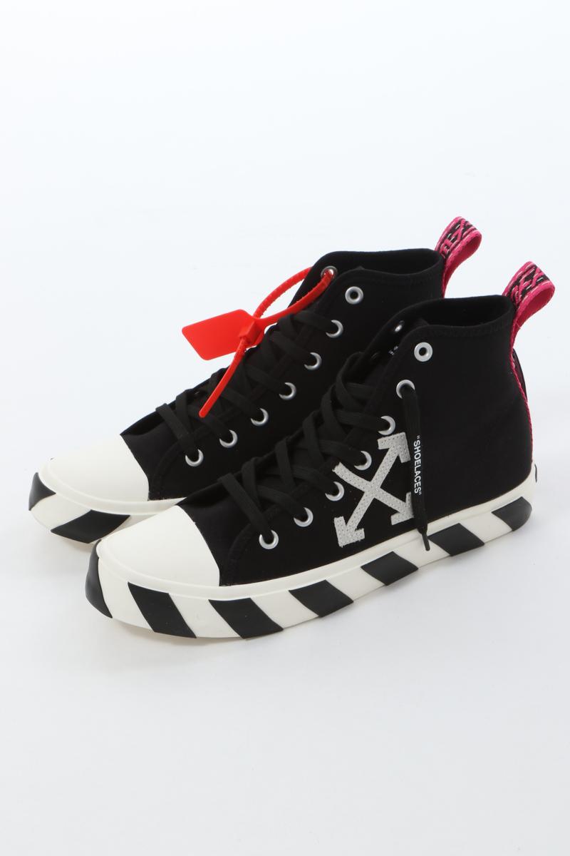 オフホワイト OFF-WHITE スニーカー ハイカット シューズ 靴 OMIA119S20D330381001 メンズ IA119S20 D33038 ブラック 送料無料 楽ギフ_包装 2020年春夏新作