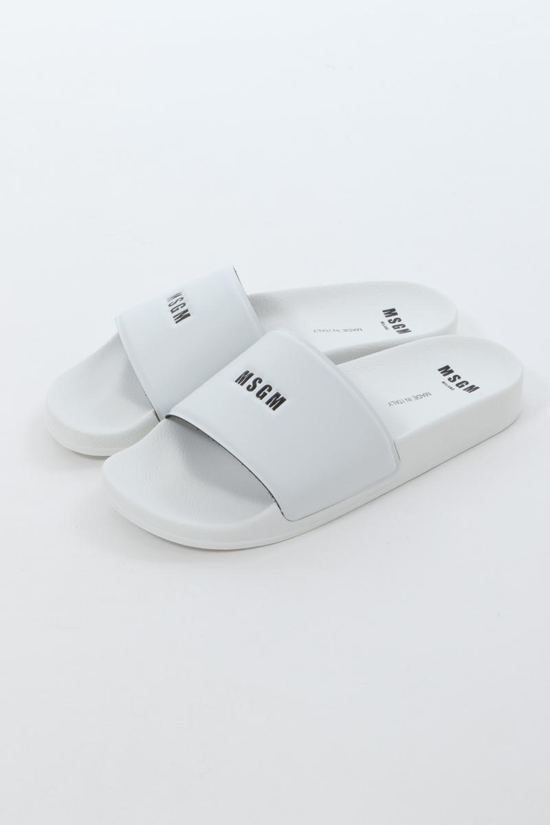 エムエスジーエム MSGM サンダル シャワーサンダル 靴 メンズ 2840MS15208 732 ホワイト 送料無料 楽ギフ_包装 2020年春夏新作 2020SS_SALE