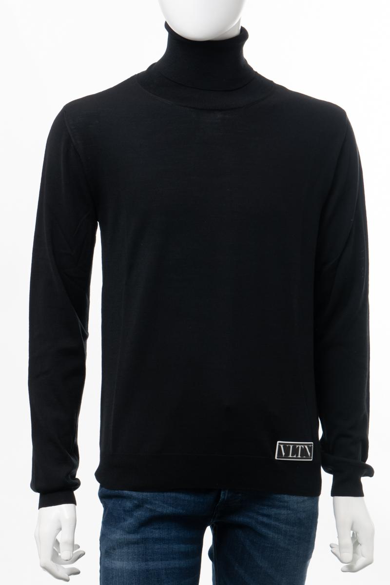 ヴァレンティノ Valentino セーター ニット タートルネック メンズ UV3KC09N6KR ブラック 送料無料 2020年秋冬新作