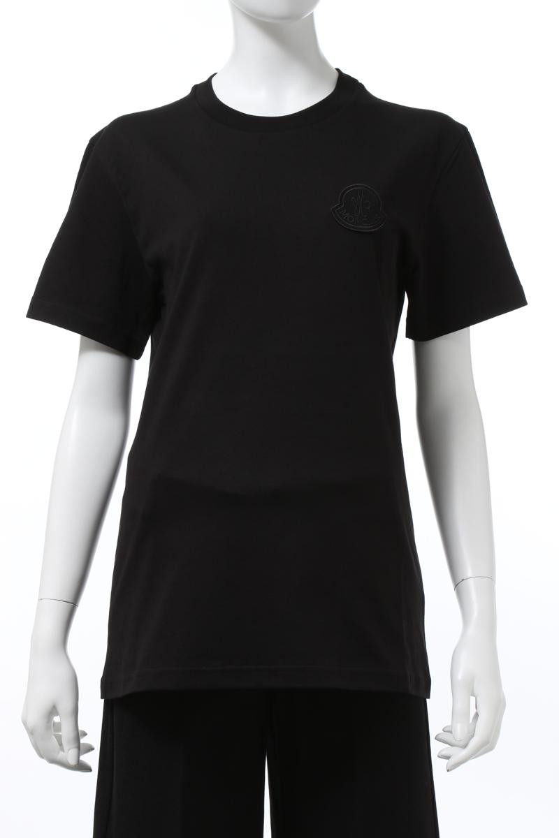 【予約販売品】 モンクレール MONCLER Tシャツ 半袖 Tシャツ 丸首 MONCLER クルーネック レディース レディース 8C75900 V8161 ブラック 送料無料 2020年秋冬新作 2020AW_SALE 2020AWMON値下, プリントジョーズ:5f532ff4 --- bungsu.net