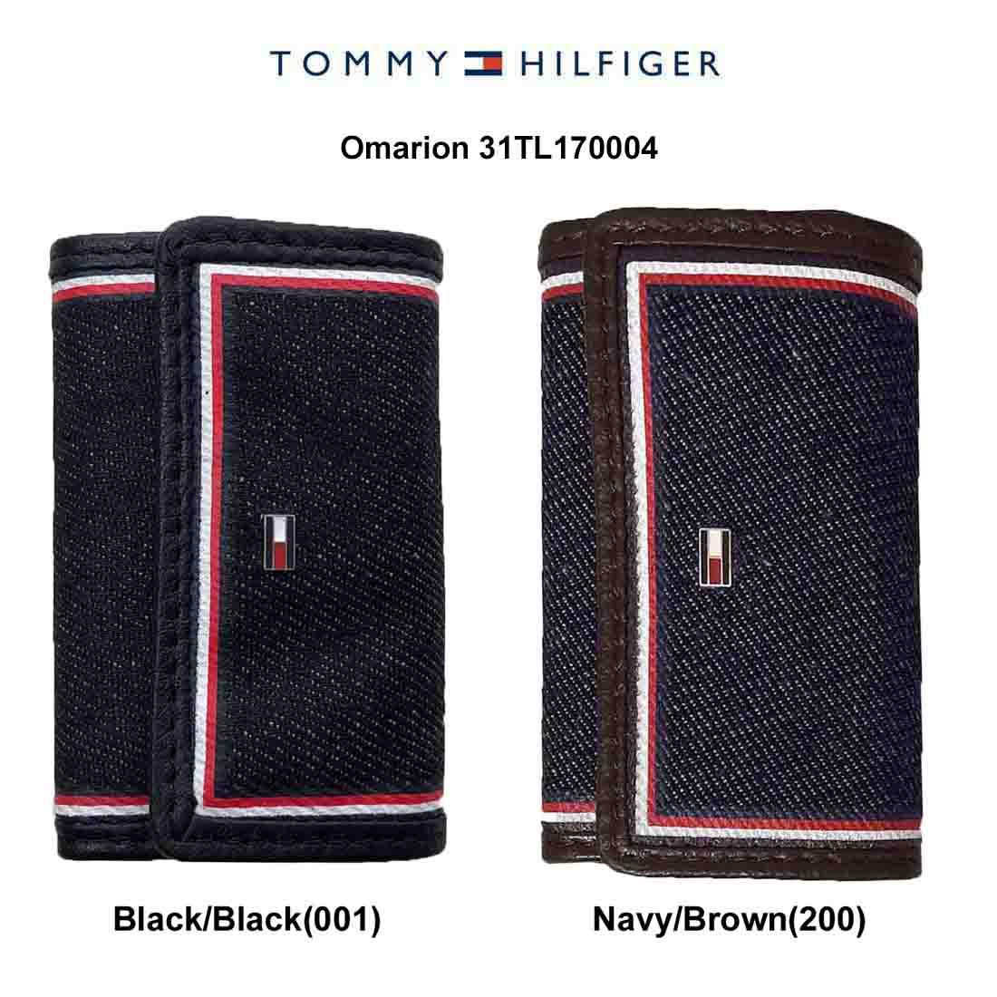 送料無料 プレゼント ギフトにおすすめ 商店 TOMMY HILFIGER トミーヒルフィガー キーケース モデル着用&注目アイテム Omarion デニム キーホルダー 31TL170004
