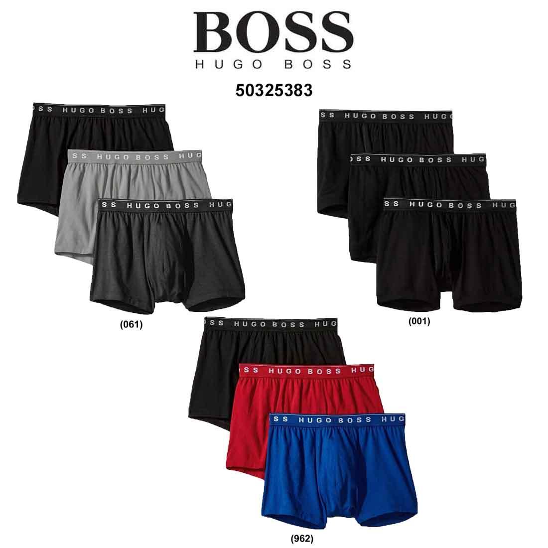 送料無料 並行輸入品 HUGO BOSS ヒューゴボス 流行 ローライズ メンズ 50325383 ボクサーパンツ 超特価 お買い得 下着 3枚セット