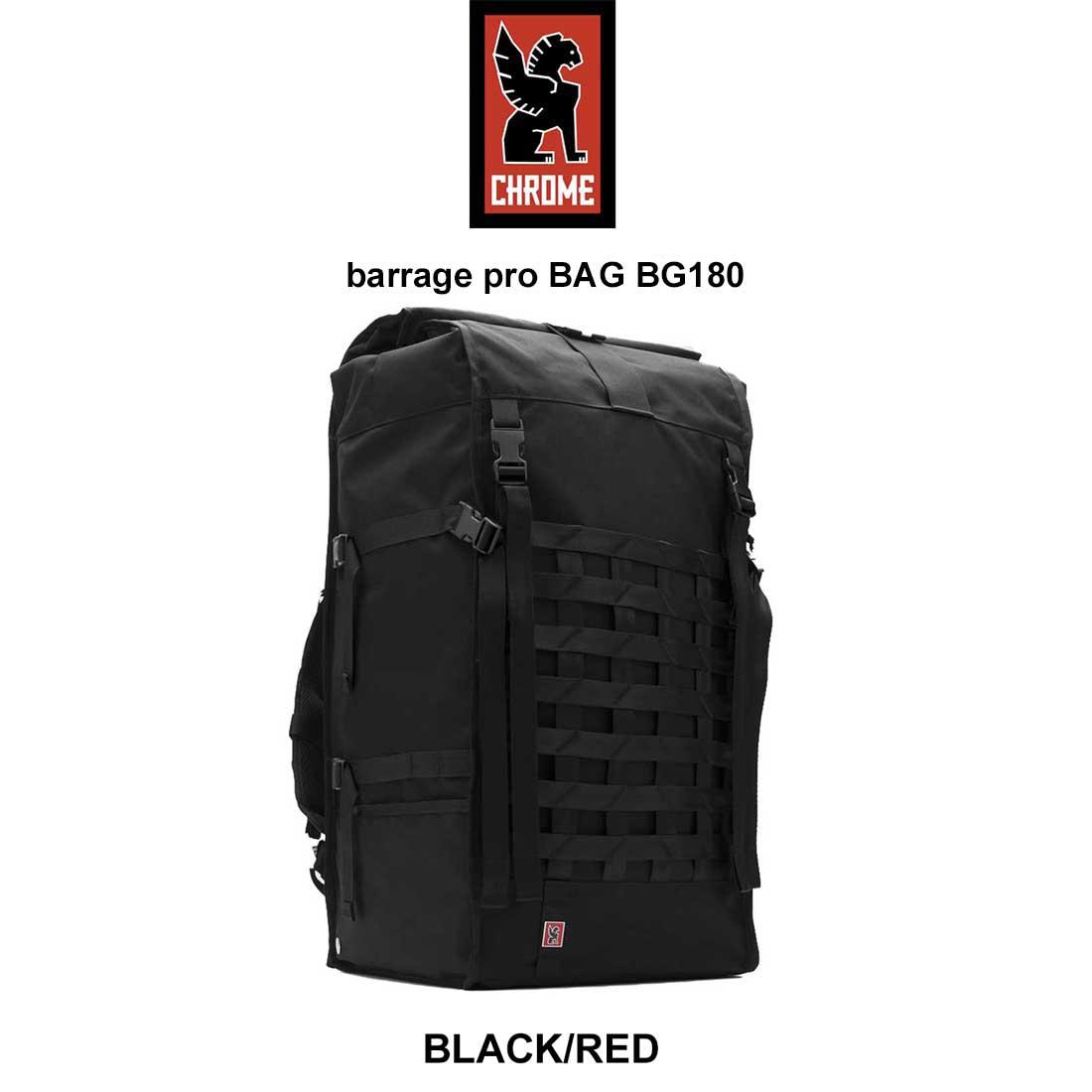 Chrome(クローム)バックパック リュック サイクリング 自転車 ロードバイク barrage pro BAG BG180