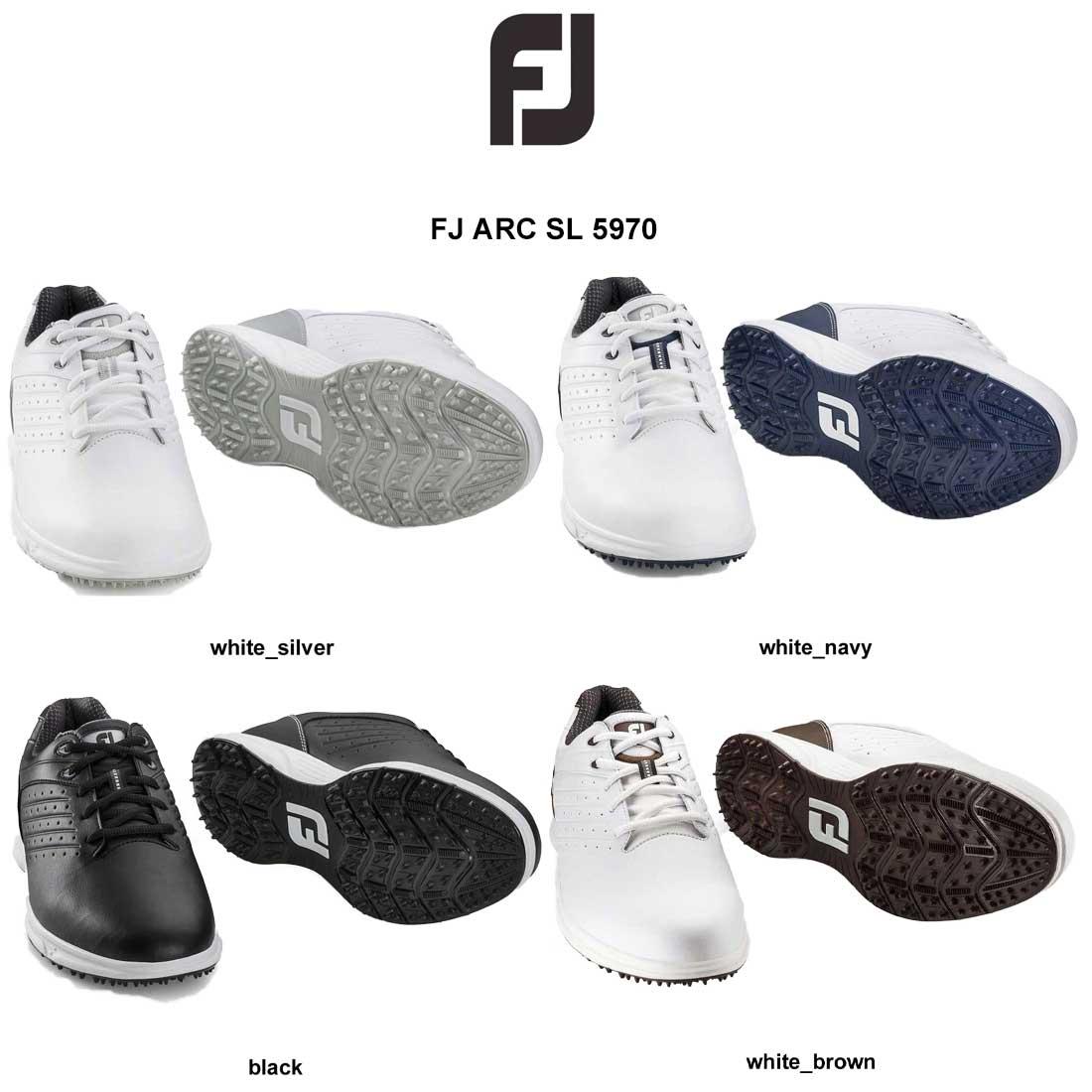 Foot Joy(フットジョイ)ゴルフシューズ スパイクレス 幅M(2E) メンズ FJ ARC SL 5970