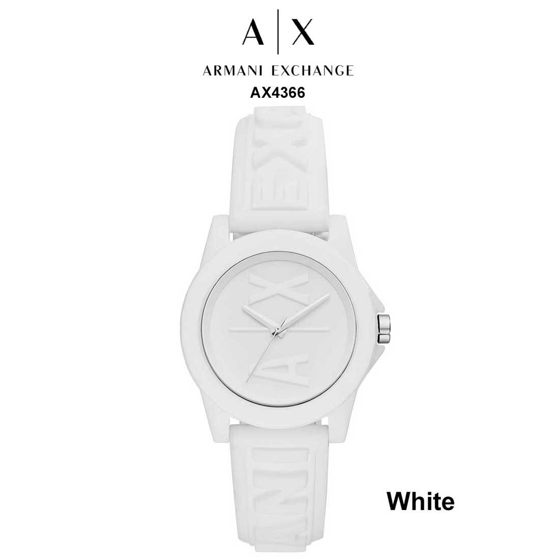 ARMANI EXCHANGE(アルマーニエクスチェンジ)A|X レディース 防水 腕時計 シリコンバンド クオーツ アナログ AX4366