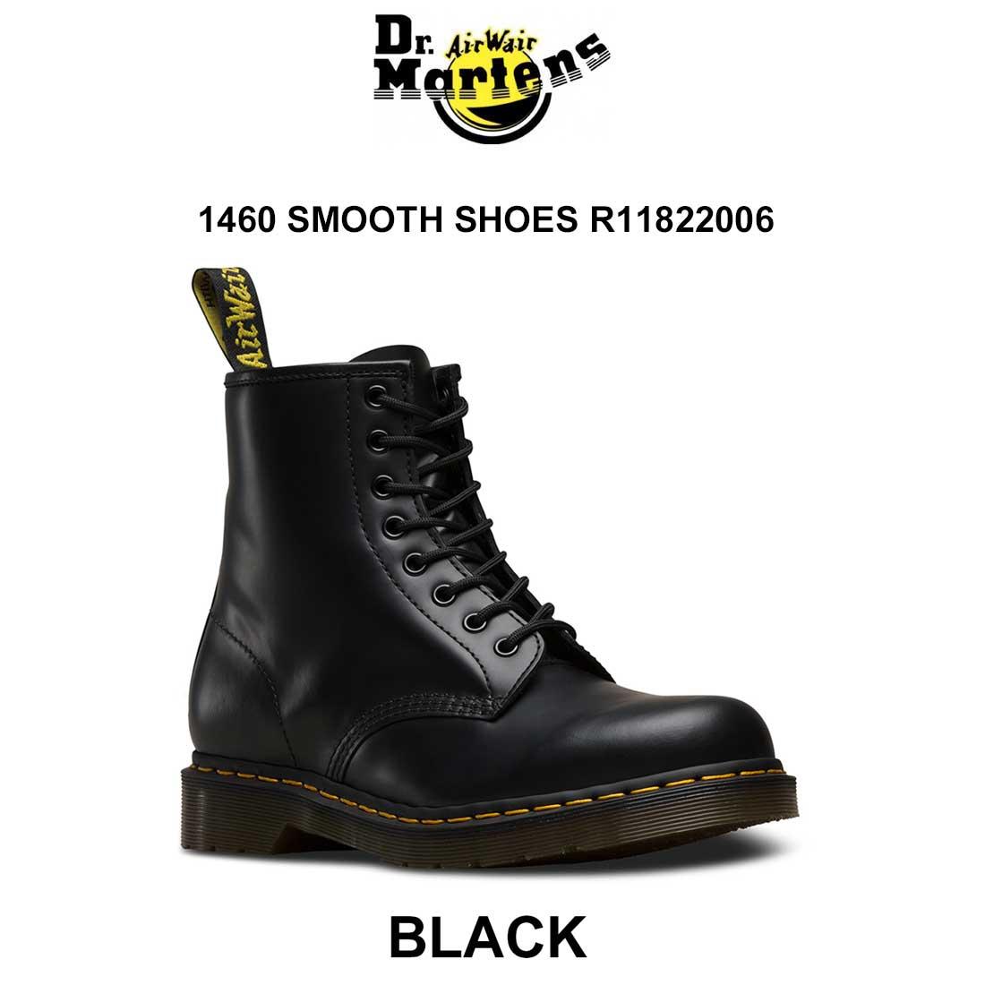 Dr.Martens(ドクターマーチン)ユニセックス ブーツ 8ホール 1460 SMOOTH SHOES R11822006
