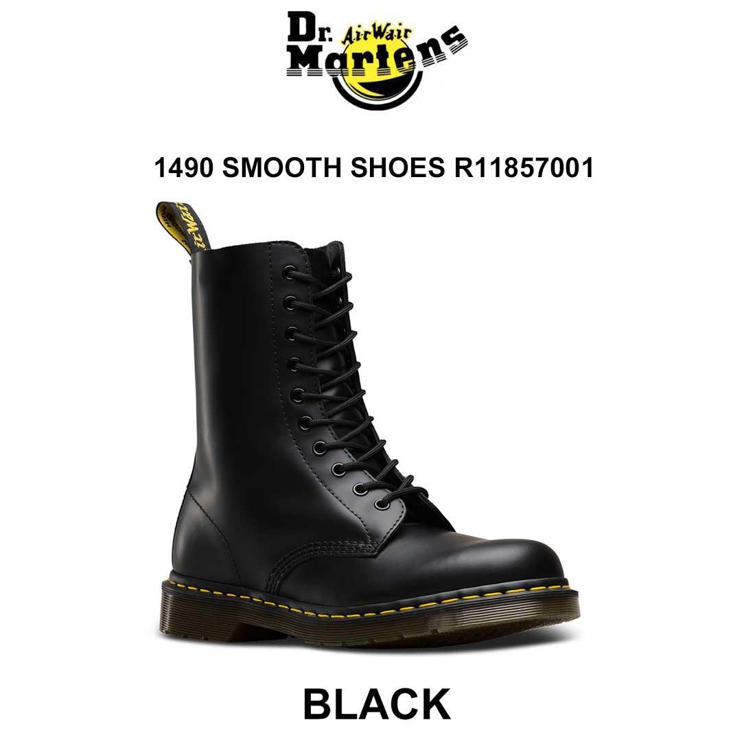 Dr.Martens(ドクターマーチン)ユニセックス ブーツ 10ホール 1490 SMOOTH SHOES R11857001