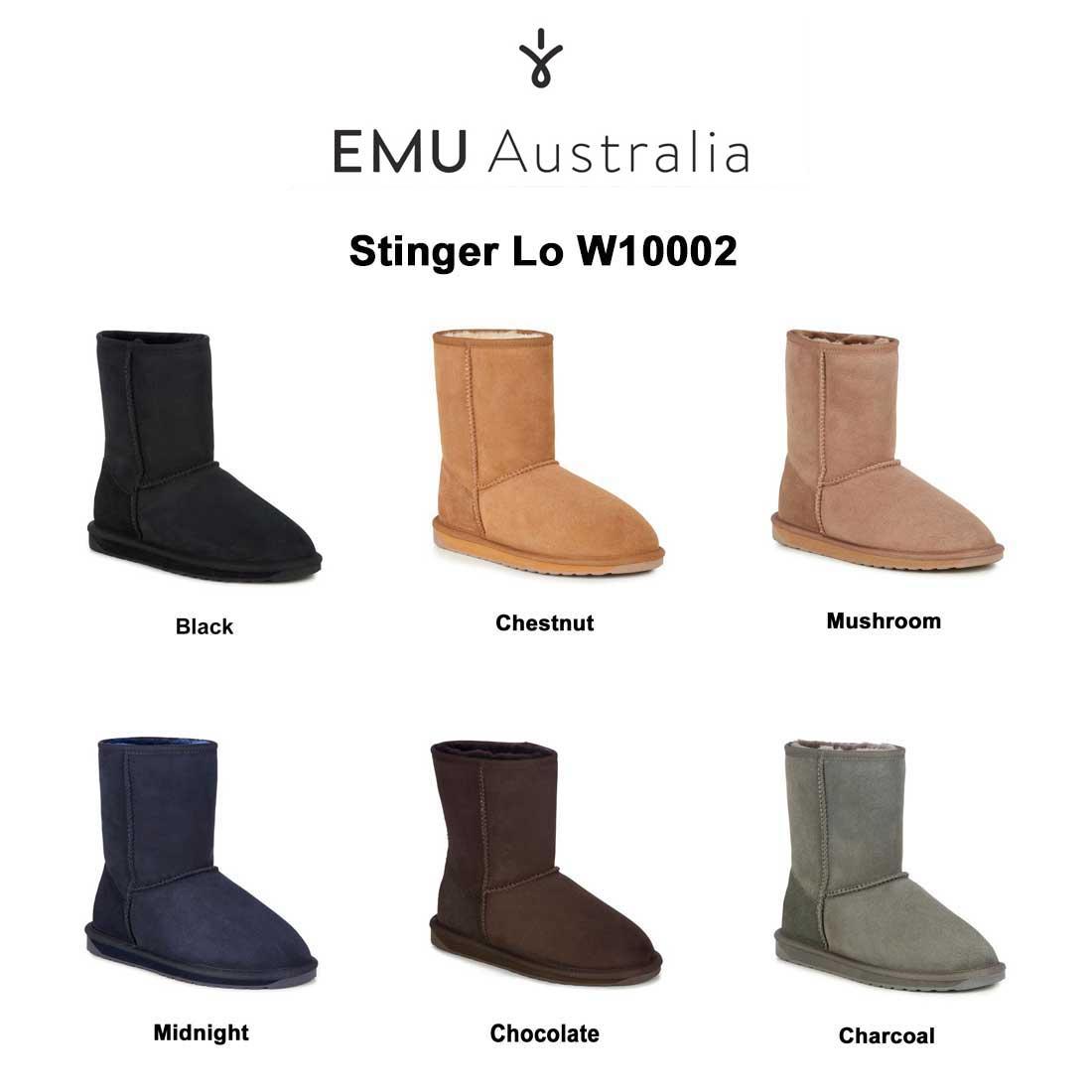 (SALE)EMU(エミュー)ムートン ブーツ スティンガーロウ Stinger Lo W10002
