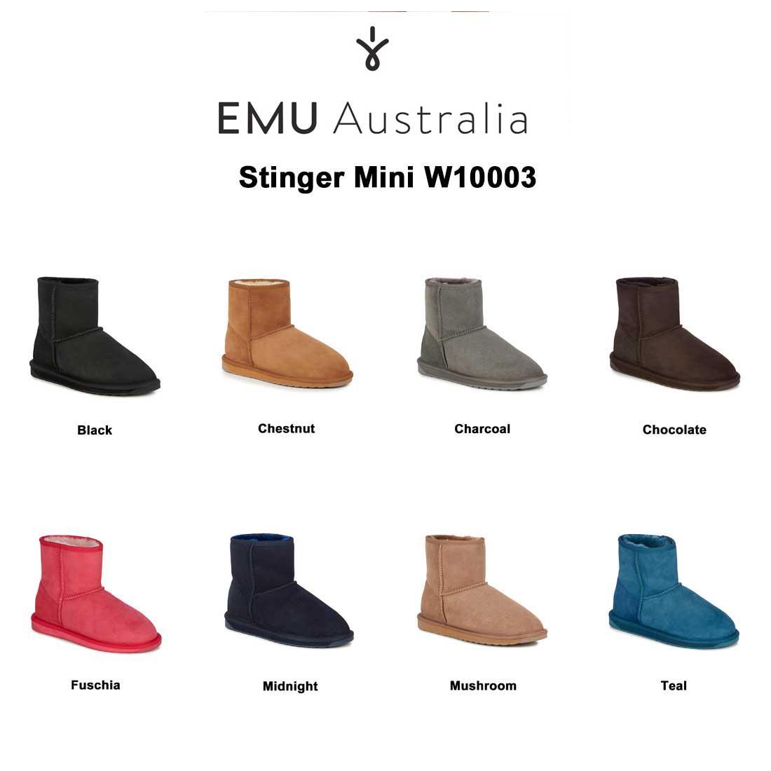 (SALE)EMU(エミュー)ムートン ブーツ スティンガーミニ Stinger Mini W10003
