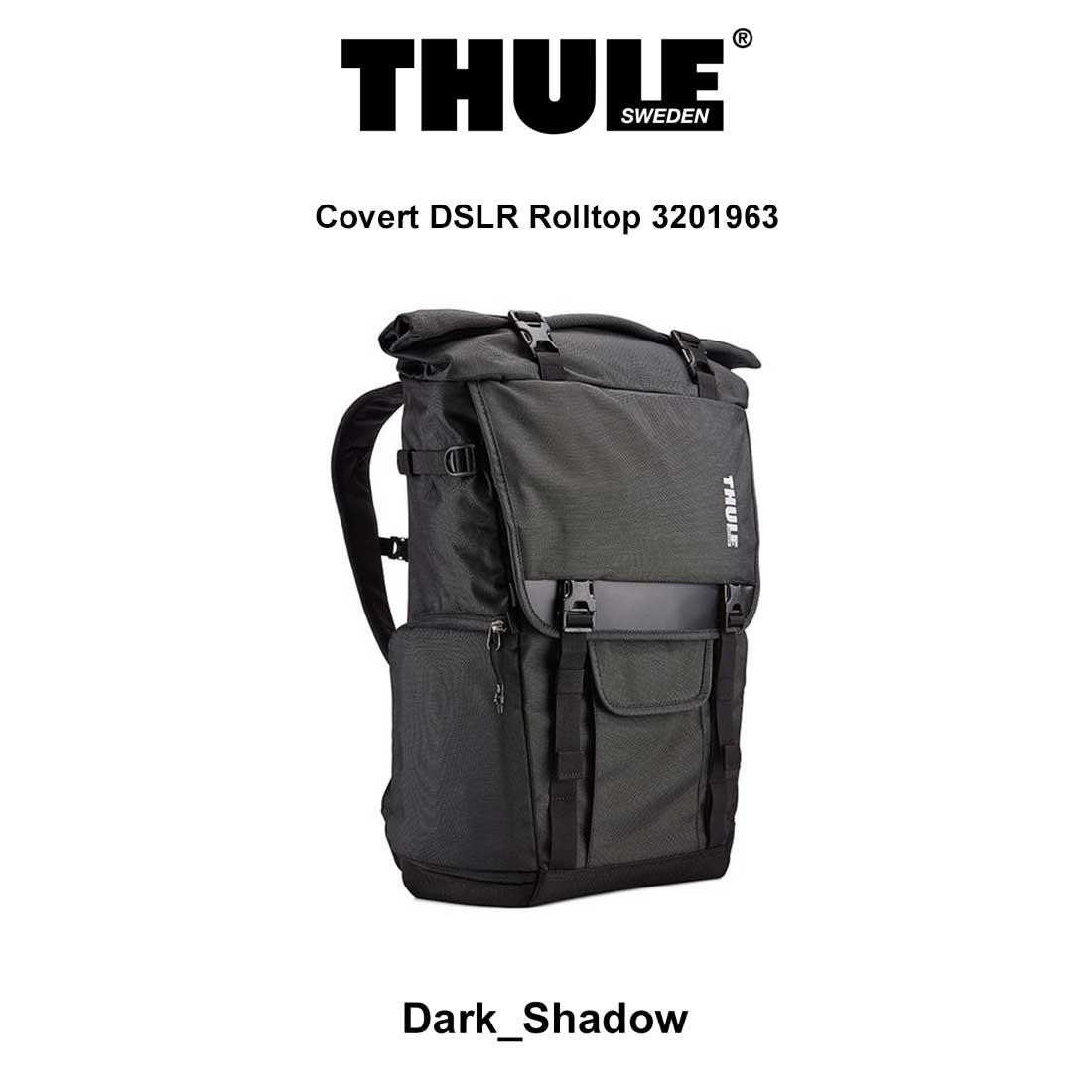 THULE(スーリー)バックパック リュック バッグ コバート Covert DSLR Rolltop 3201963