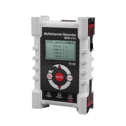 熱電対対応温度データロガー<T&D>