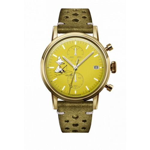 腕時計 メンズ レディース ムーミン スナフキン UNDONE 送料無料 【SEIKOムーブメント搭載 クォーツ snufkin】