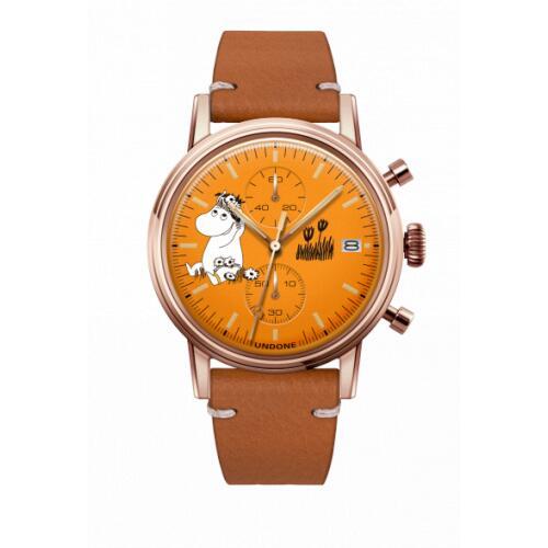 腕時計 メンズ レディース ムーミン スノークのおじょうさん UNDONE 送料無料 【SEIKOムーブメント搭載 クォーツ snorkmaiden】