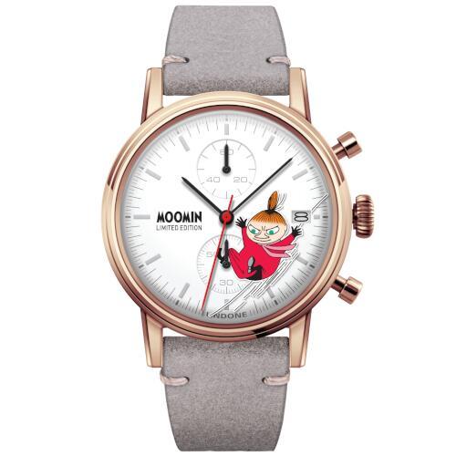 腕時計 UNDONE X ムーミン メンズ レディース 送料無料 【世界限定100本 リトルミイ Limited Edition SEIKOムーブメント搭載 クォーツ 】