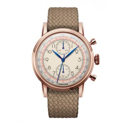 UNDONE アンダーン URBAN Killy メカクォーツ 腕時計 【ローズゴールド パーロンベルト ベージュ】