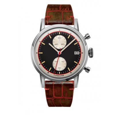 UNDONE URBAN Auta メカクォーツ 腕時計 【ステンレスシルバー アリゲーターレザーベルト ピーチ】:UNDONE(アンダーン)