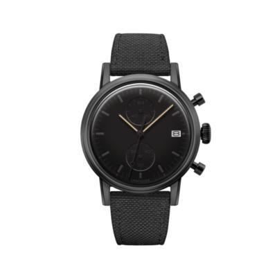 UNDONE MODERN BLACK メカクォーツ腕時計