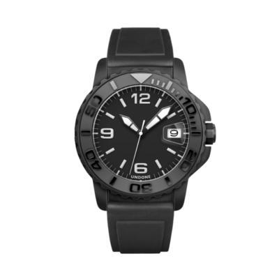 UNDONE AQUA BLACK 自動巻機械式 腕時計