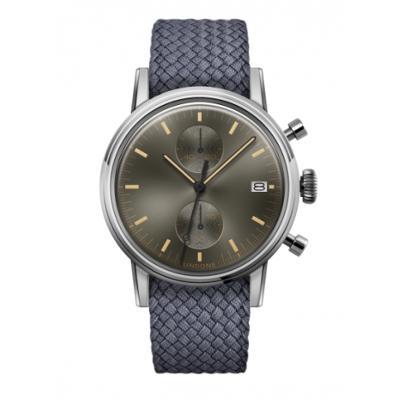 UNDONE URBAN CLASSIC Grey sunray 腕時計 メカクォーツ 【ステンレスケース パーロンベルト グレー】