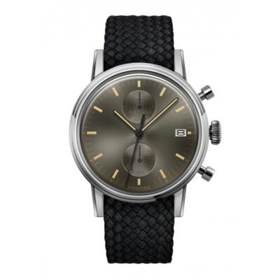 UNDONE URBAN CLASSIC Grey sunray 腕時計 メカクォーツ 【ステンレスケース パーロンベルト ブラック】