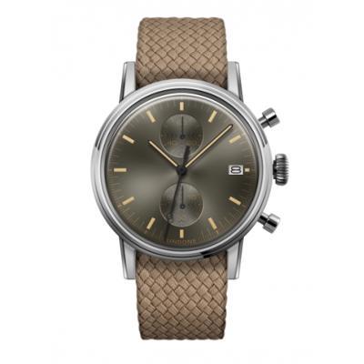 UNDONE URBAN CLASSIC Grey sunray 腕時計 メカクォーツ 【ステンレスケース パーロンベルト ベージュ】:UNDONE(アンダーン)