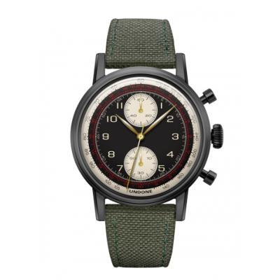 UNDONE URBAN NAVI 2.0 腕時計 【Black PVD coating コーデュラベルト グリーン】
