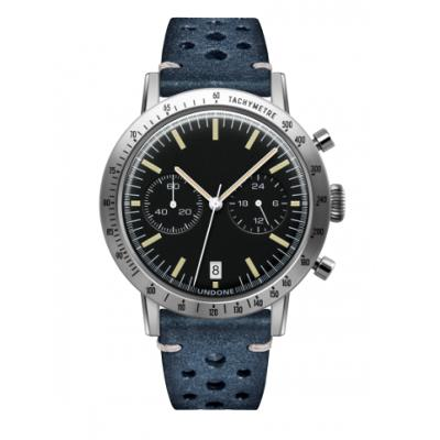 UNDONE URBAN TOROPICAL 腕時計 メカクォーツ Amazon Dial Sport Bezel Silver【ステンレスケース ラリーブルーベルト】