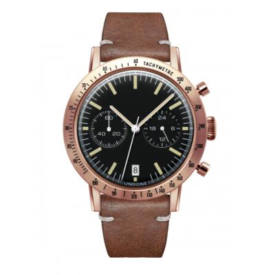 UNDONE URBAN TOROPICAL 腕時計 メカクォーツ Amazon Dial Sport Bezel Rose Gold【ローズケース カーフベルト ブラウン】