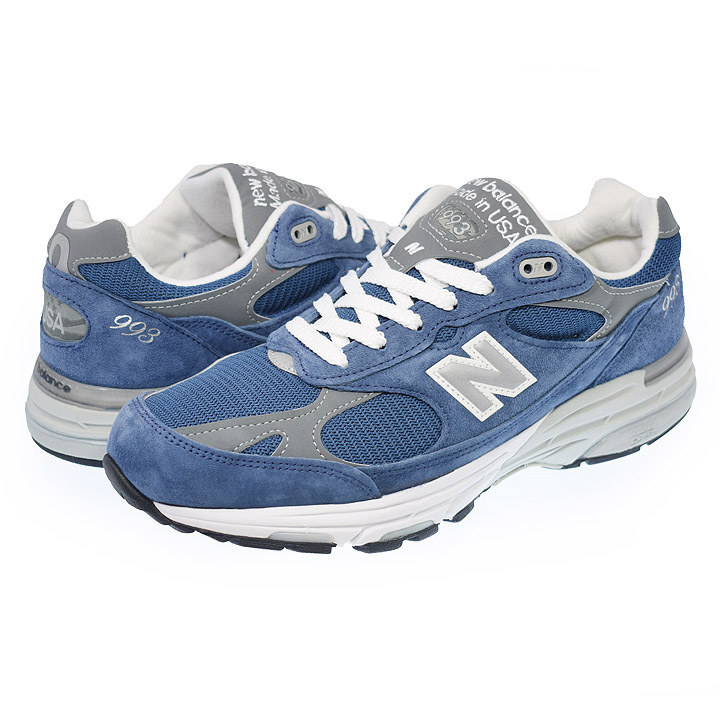 OUTLET ニューバランス New Balance MR993VI width:D Made in USA スウェード・ナイロンメッシュ ブルー メンズ・レディスサイズ