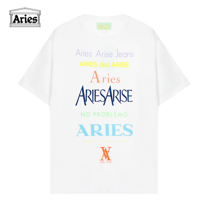 abc9d5f8cb0c ARIES (Aries   Allier) GRAPHIC SS TEE PERFUME (WHITE)  T-shirt    cut-and-sew   tops   graphic   logo  UNISEX   white