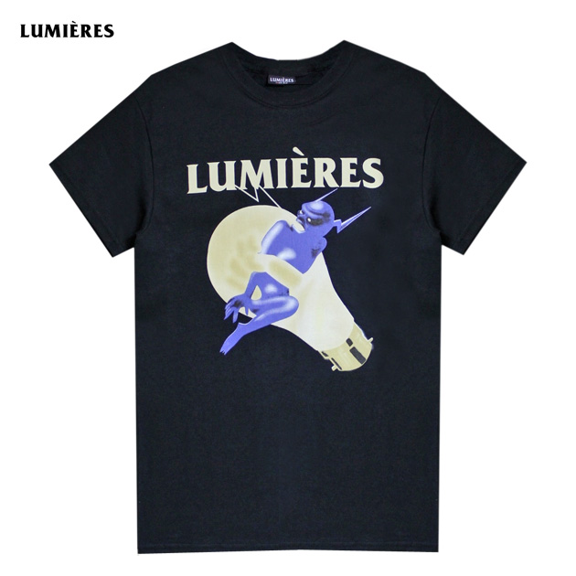 LUMIERES(LUMIERE)THE DEVIL'S IN THE DETAIL TEE(BLACK)[T恤/針織/UNISEX][黑色]