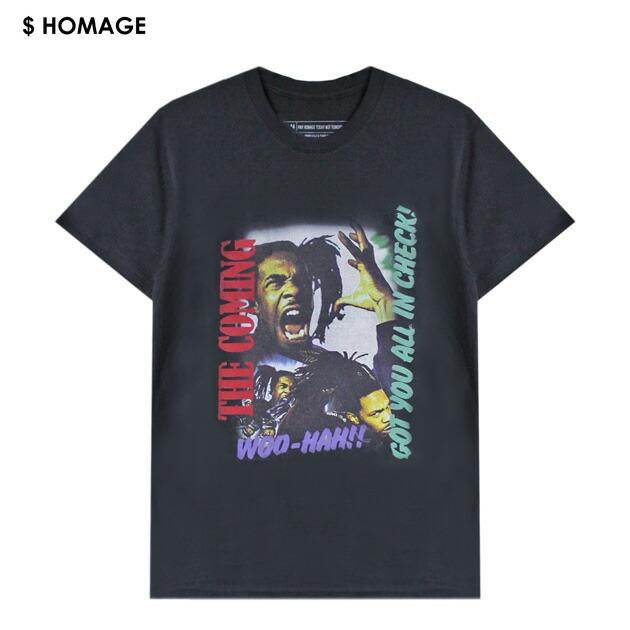 VXID (ブイエックスアイディ) BUSTA RHYMES TEE (BLACK) [Tシャツ/カットソー/バンド/ツアー/ラップ/ヒップホップ/WOO-HAH/UNISEX] [ブラック], 富士町 afcd16cc