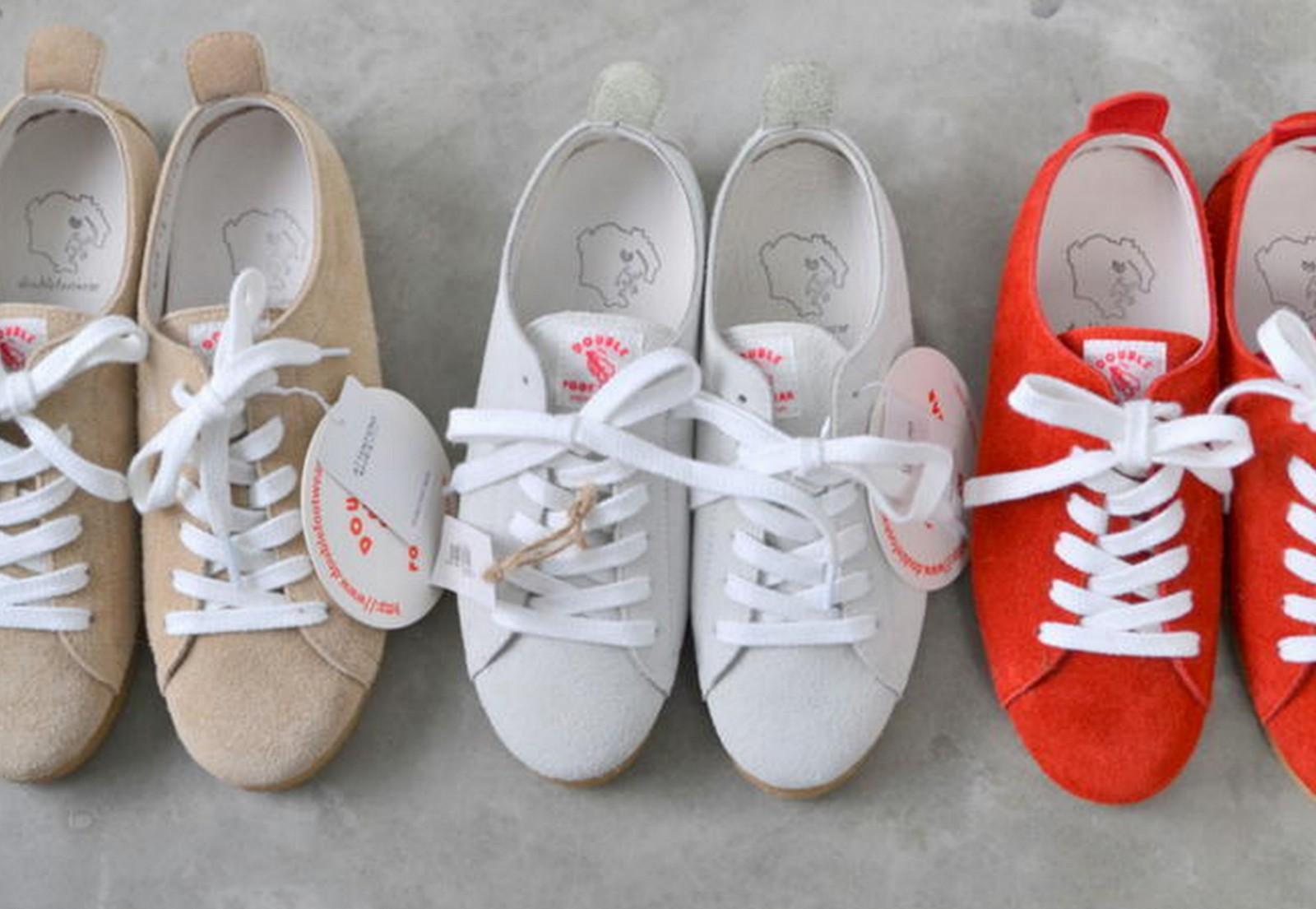 【予約アイテム】DOUBLE FOOT WEAR ダブルフットウェア Hermannハーマン 予約アイテム 送料無料 全3色 シューズ 靴 小さいサイズ 大きいサイズ 完全受注生産 日本製 男女兼用 ユニセックス