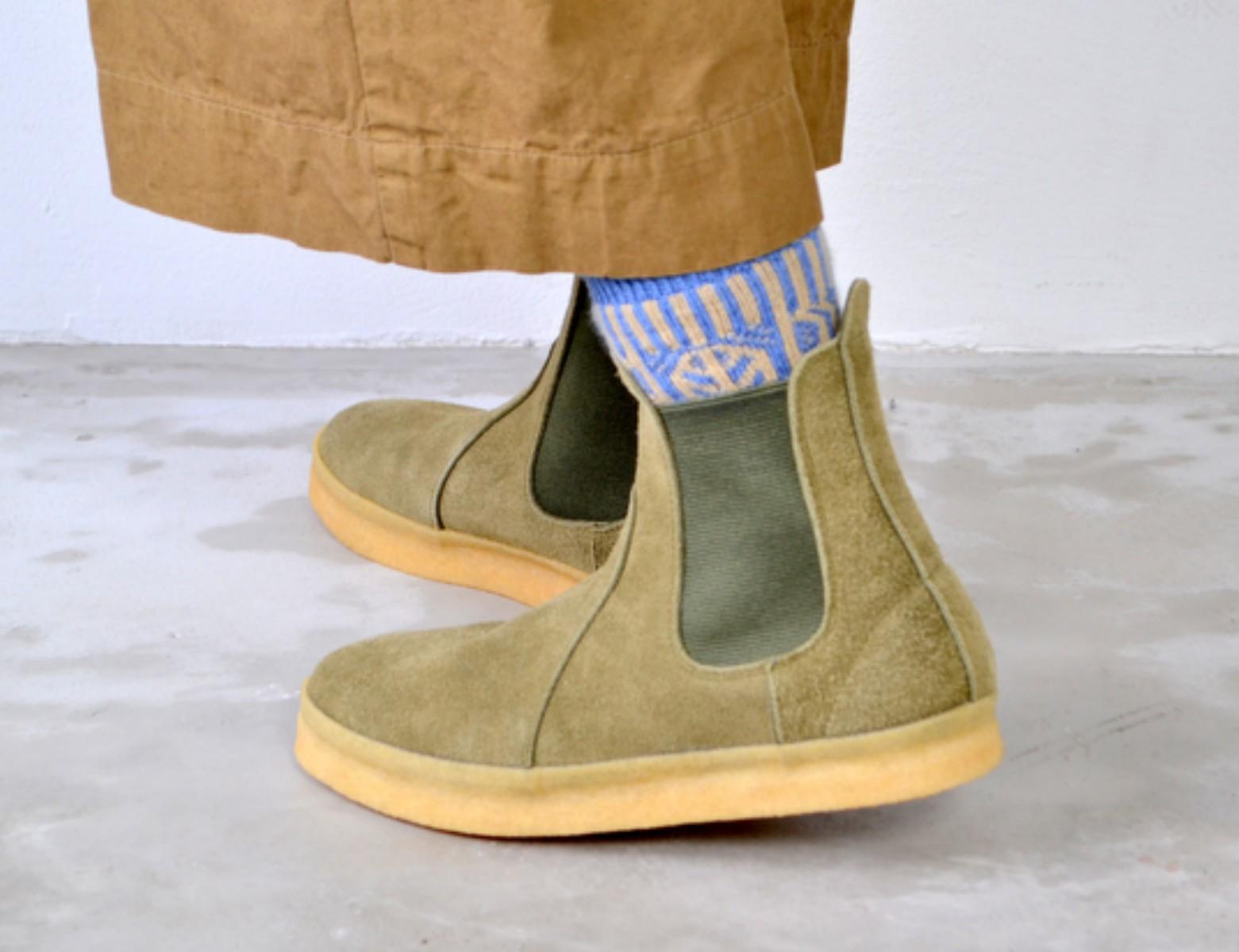 【予約アイテム】DOUBLE FOOT WEAR ダブルフットウェア Grossman グロスマン 予約アイテム 送料無料 全4色 シューズ 靴 小さいサイズ 大きいサイズ 完全受注生産 日本製 男女兼用 ユニセックス