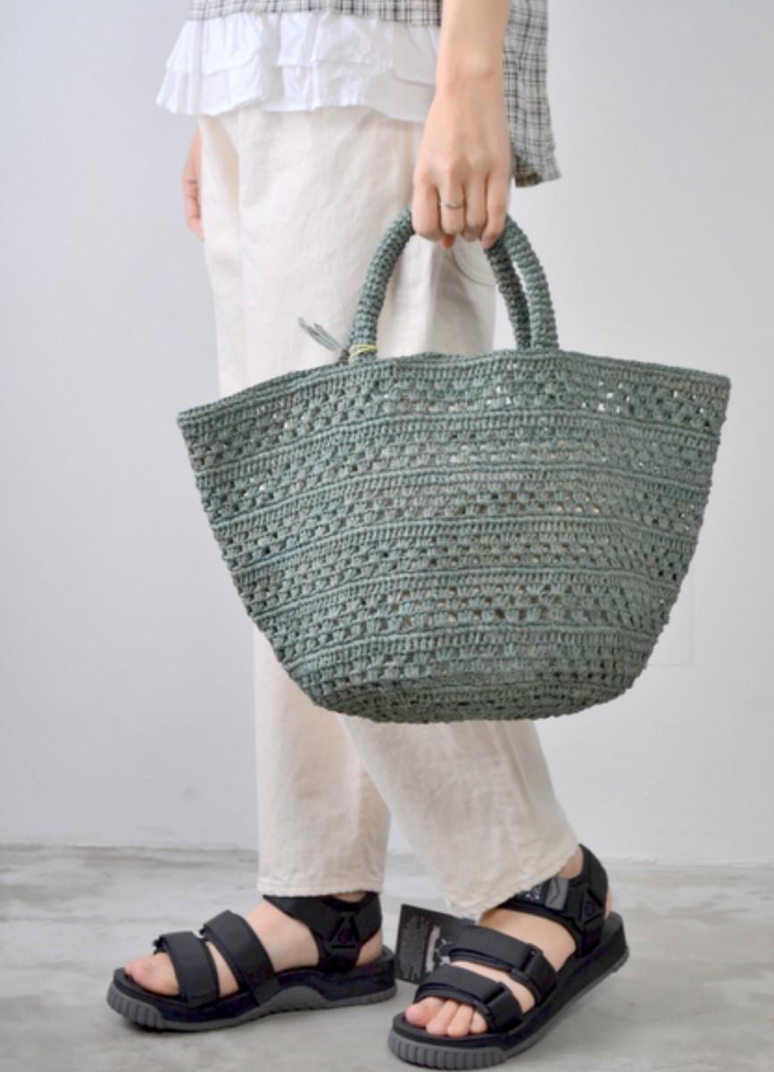 SANS ARCIDET サンアルシデ ラフィア かごバッグ ラフィア トート KAPITY Bag Medium KAPITY Bag M MR K 送料無料 バッグ かご レディースバック おしゃれ バック かわいい 大人 小物 持ち手