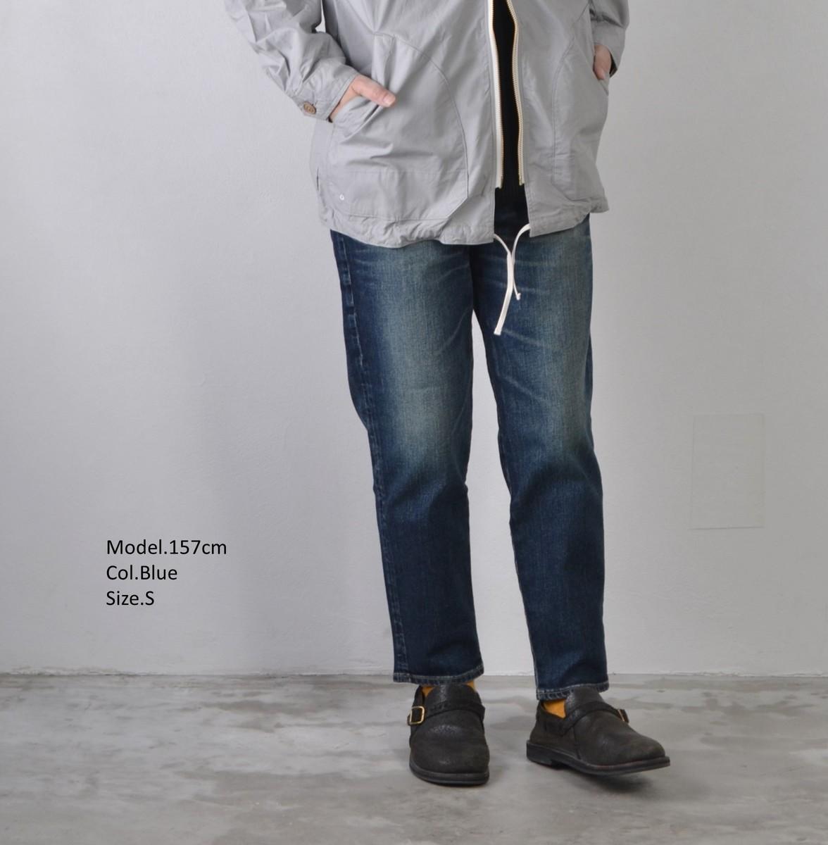 DEEP BLUE ディープブルー アンクル丈ボーイフレンドデニムパンツ 全2色 73966 送料無料 日本製 新色追加 再入荷 ボトムス レディースファッション デニム パンツ