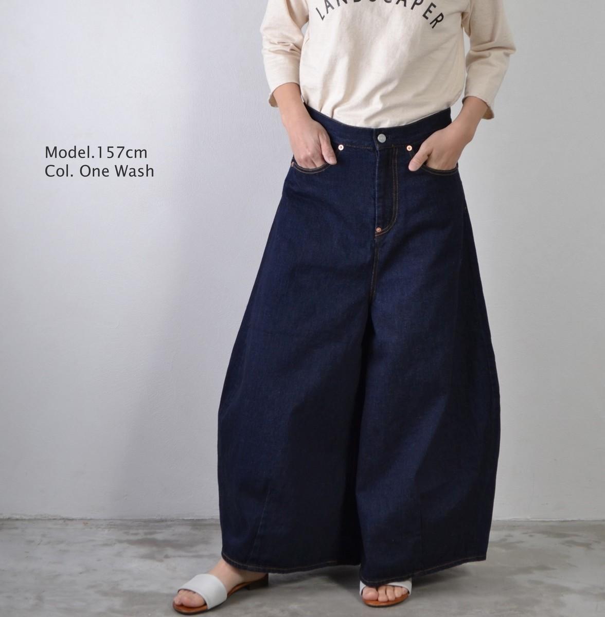 DEEP BLUE ディープブルー ヴィンテージルーズデニム パンツ 72844 OW ボトム デニム レディースファッション 送料無料 日本製 コットン100% 再入荷
