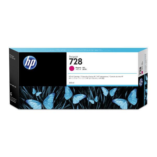 メーカー純正品 値下げ 送料無料 ※沖縄 離島は除きます HP HP728インクカートリッジ 300ml 離島:配送不可 純正品 沖縄 営業 F9K16A マゼンタ