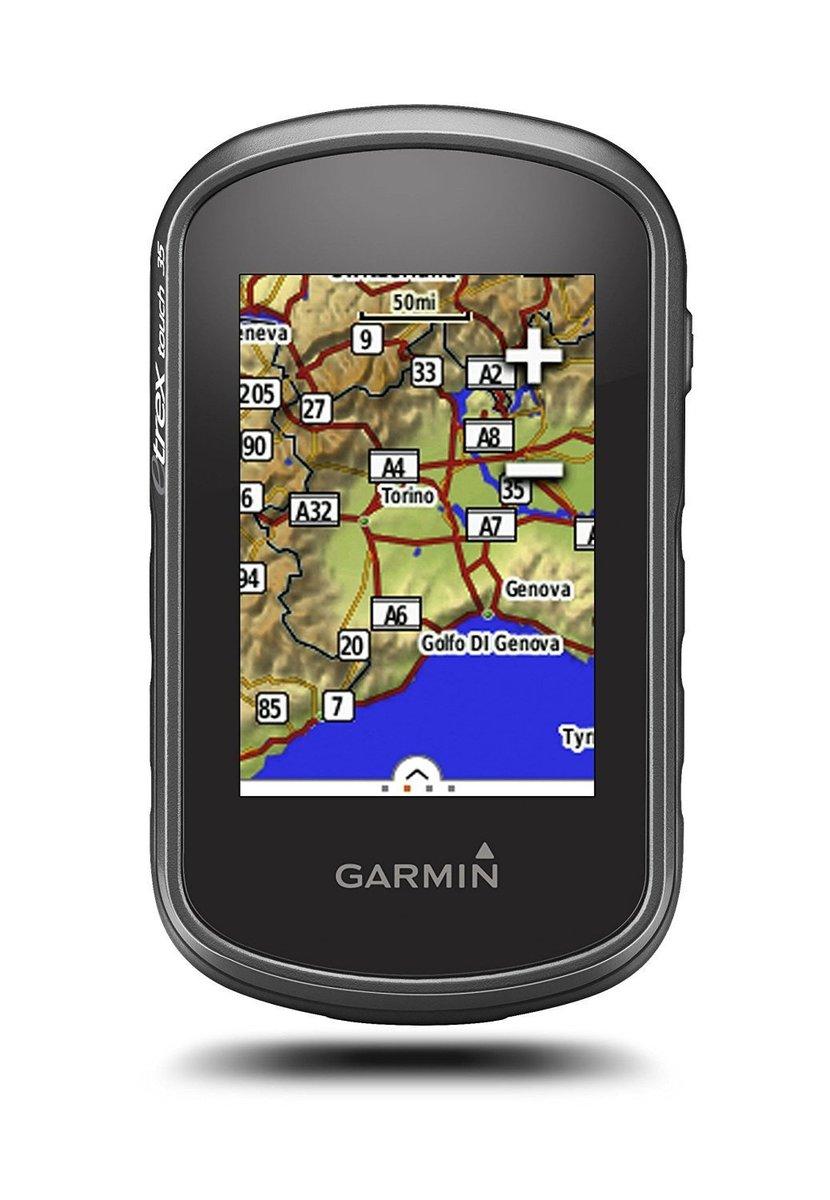 GARMIN ガーミン eTrex Touch 35 ハンディGPS タッチ操作対応 ヨーロッパ地図入 並行輸入品