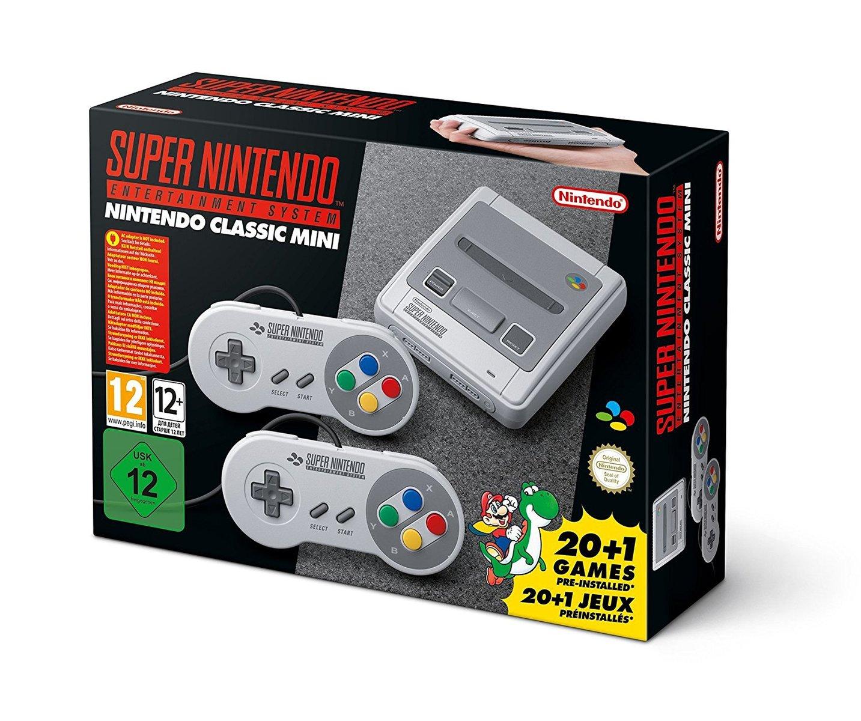 Nintendo Classic Mini ニンテンドークラシック ミニ スーパーファミコン 海外 欧州版