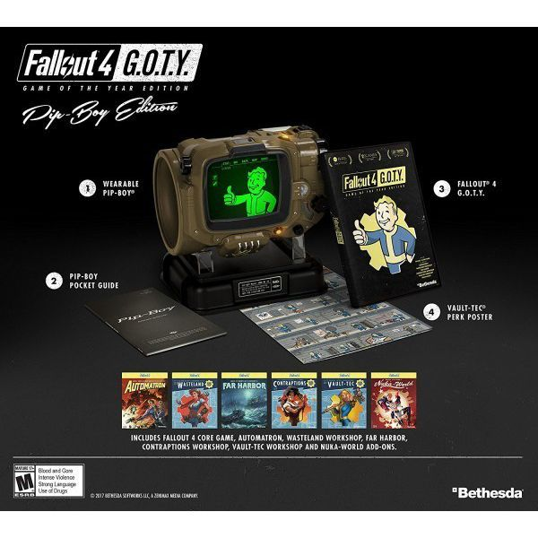 Fallout 4 Pip-Boyエディション フォールアウト4 Game of the Year Edition PS4 海外バージョン