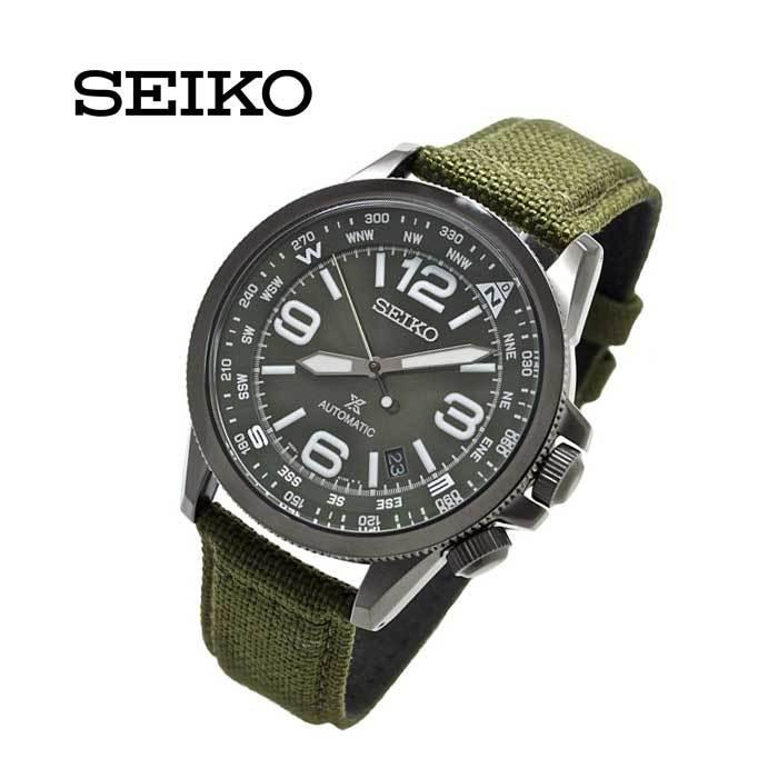 セイコー SEIKO SRPC33K1 自動巻き プロスペックス ソーラー クロノグラフ ミリタリー ベルト メンズ 並行輸入品