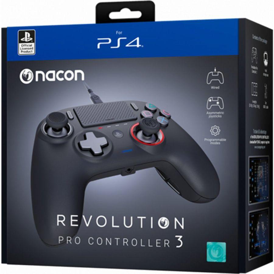 販売 PS4 プロコン 情熱セール ナコン新作コントローラー Nacon Revolution Pro Controller 輸入版 3 コントローラー プロ ナコン V3 レボリューション