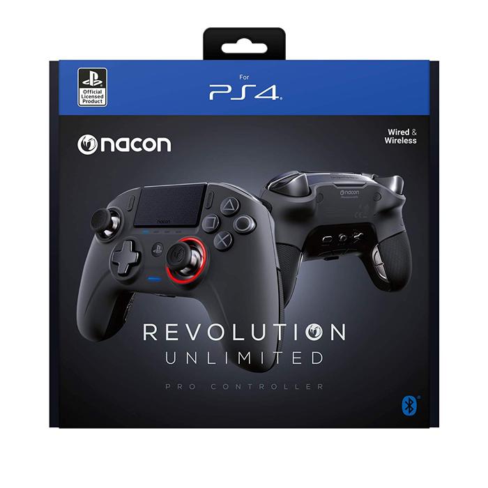 Nacon Revolution Unlimited Pro Controller ナコン レボリューション アンリミテッド プロコントローラー 並行輸入品