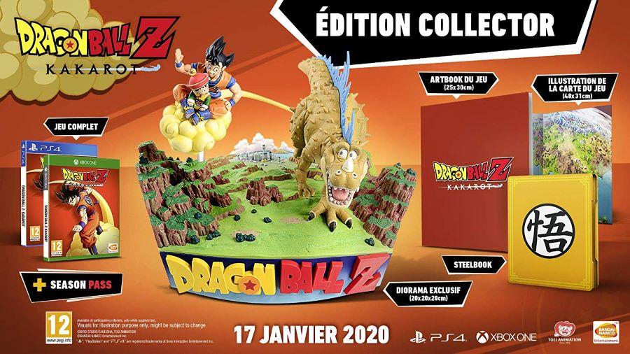 【新品】Dragonball Z Kakarot Collector's Edition ドラゴンボールZ カカロット コレクターズエディション PS4 輸入版