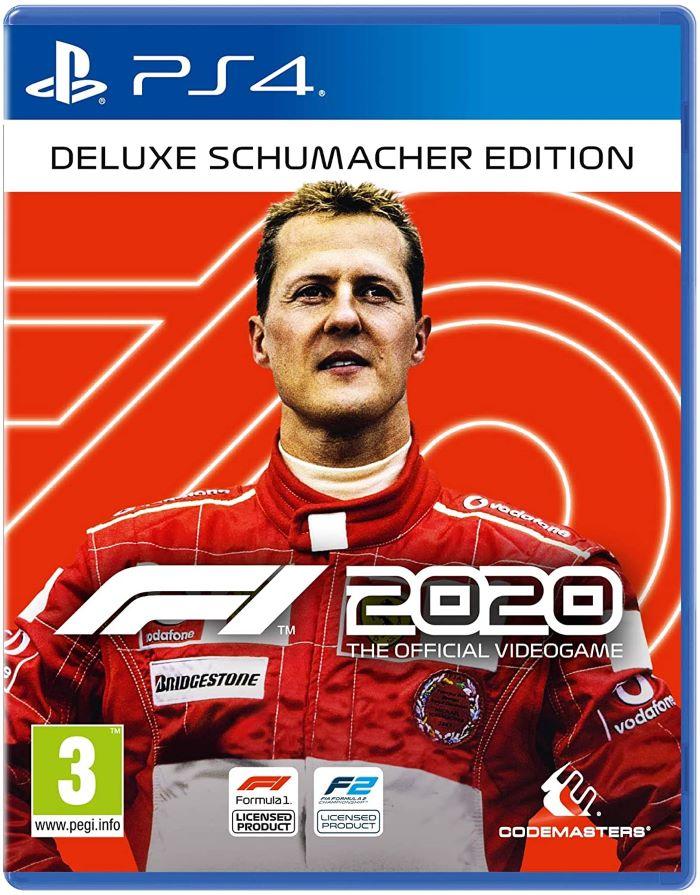 【予約】F1 2020 Deluxe Schumacher Edition PS4 輸入版
