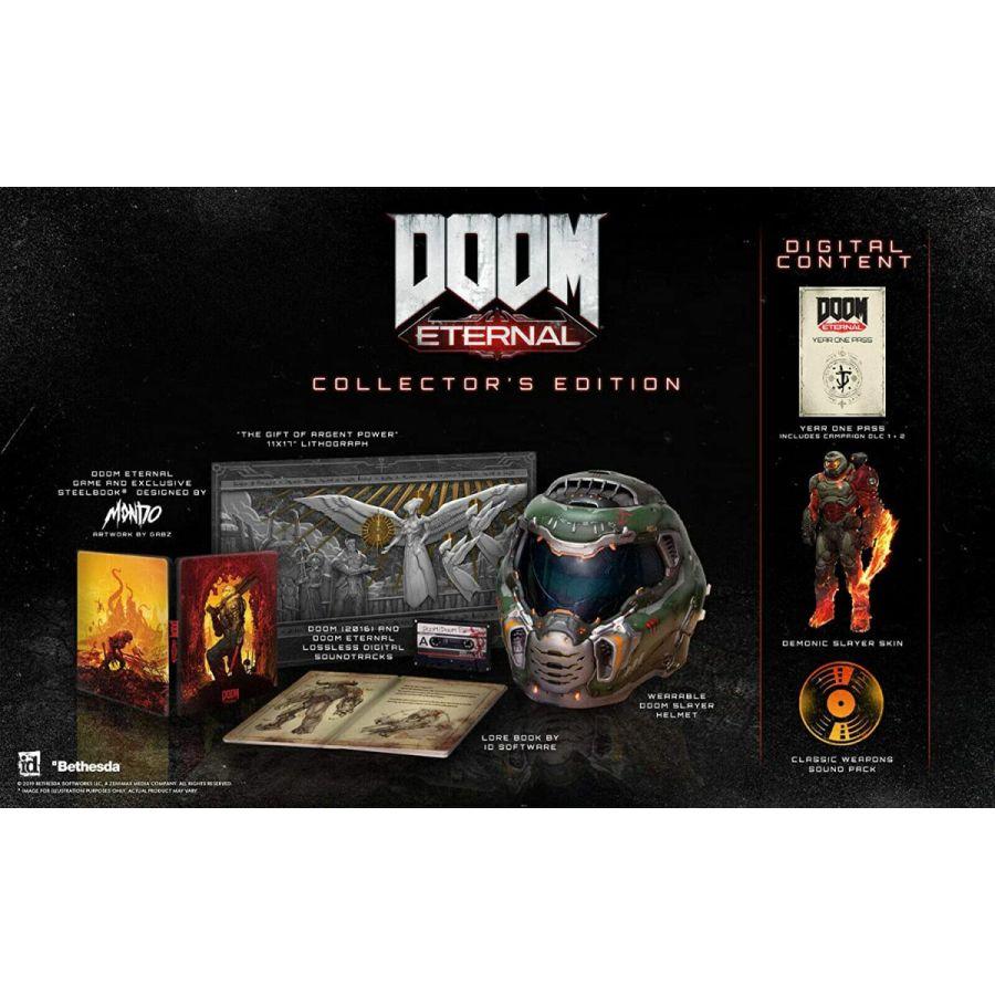 【新品】Doom Eternal Collector's Edition ドゥーム エターナル コレクターズエディション PS4 輸入版
